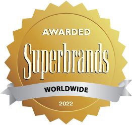 Superbrands Wordwide seal